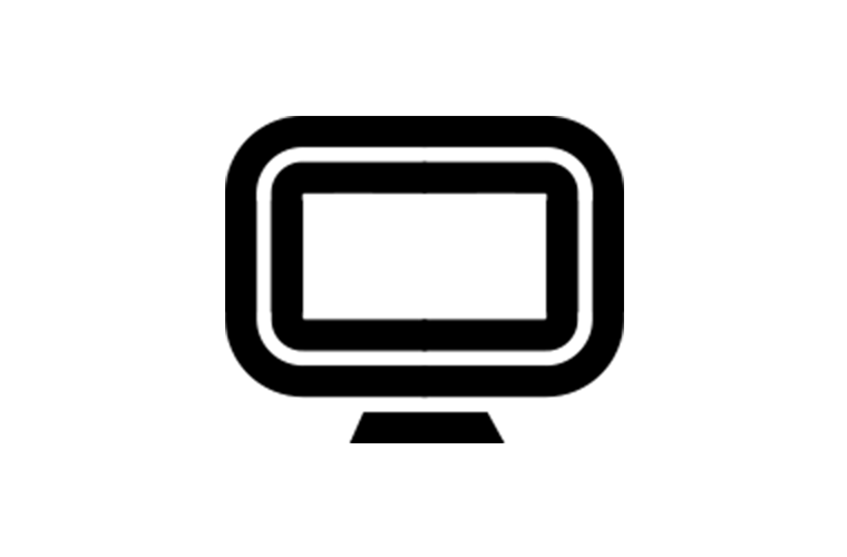 social digital production icon