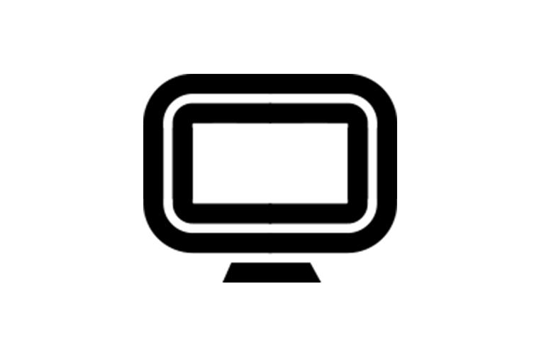 social digital production icon