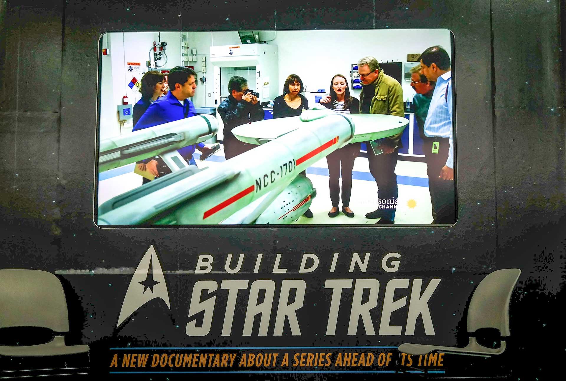 Start Trek spaceship
