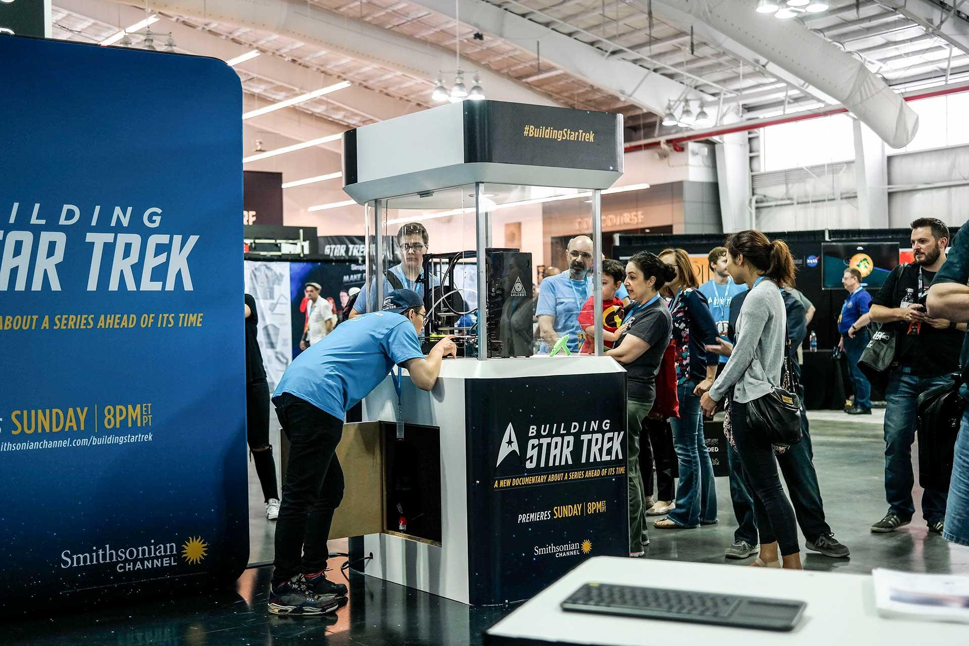 Start Trek exhibition