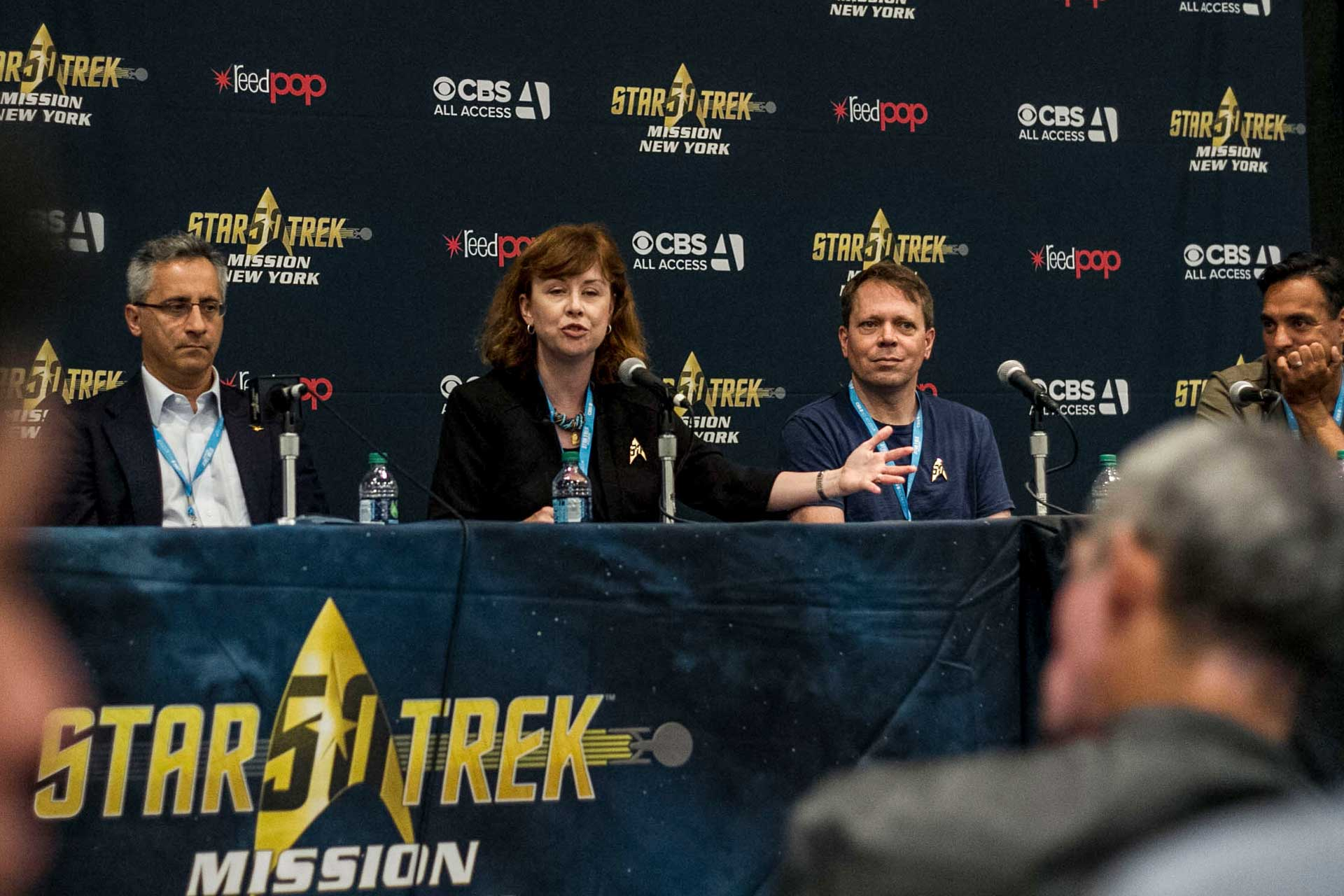 Start Trek press conference