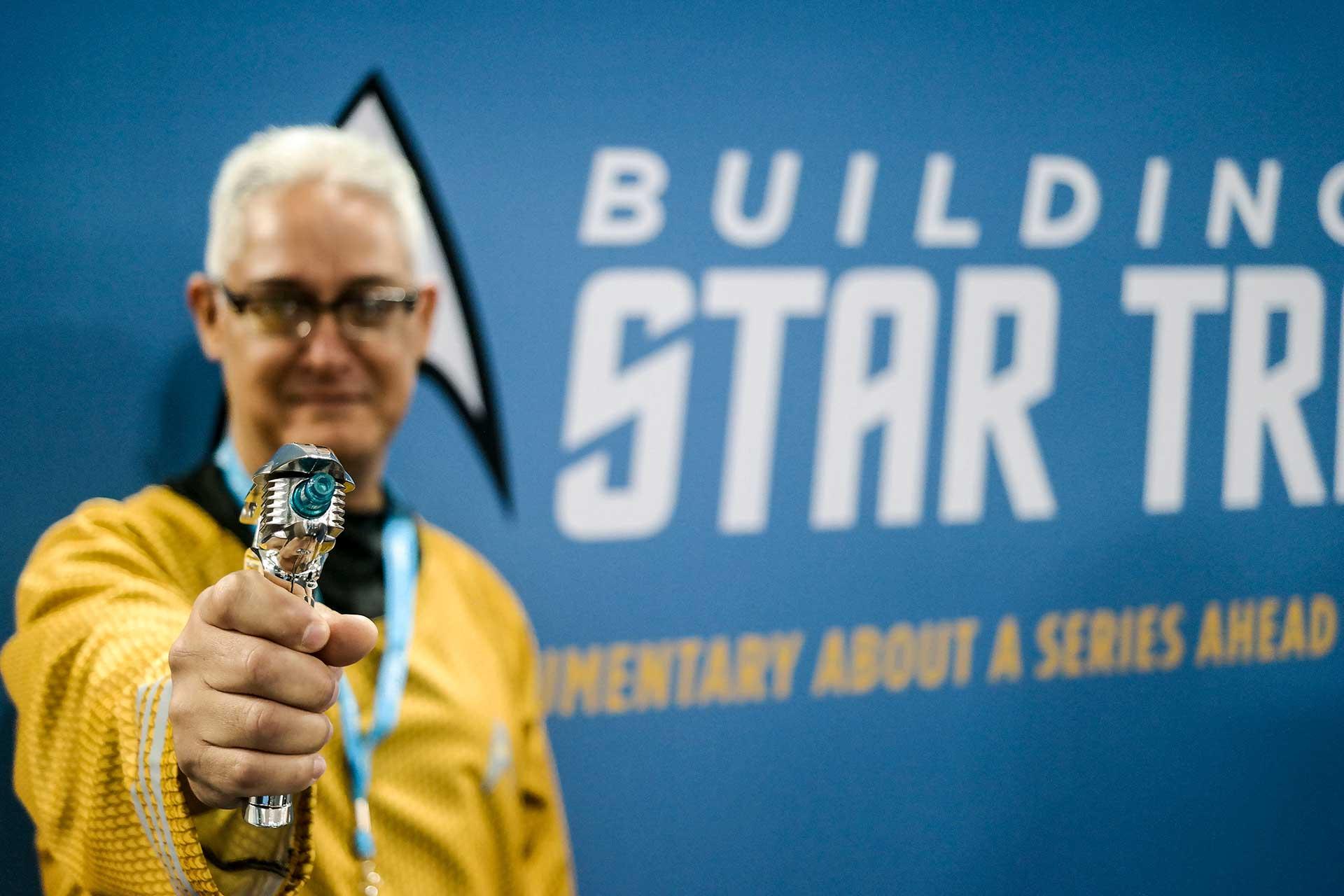 Guy with Start Trek costume
