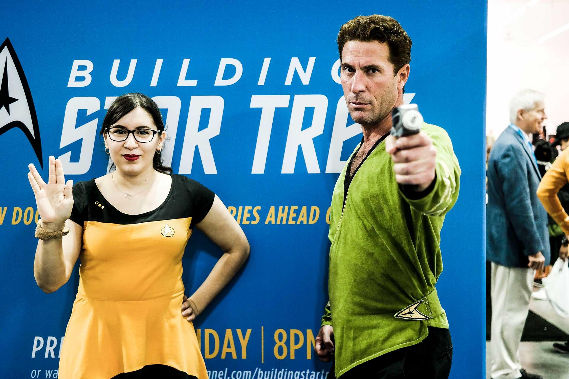 Start Trek costumes