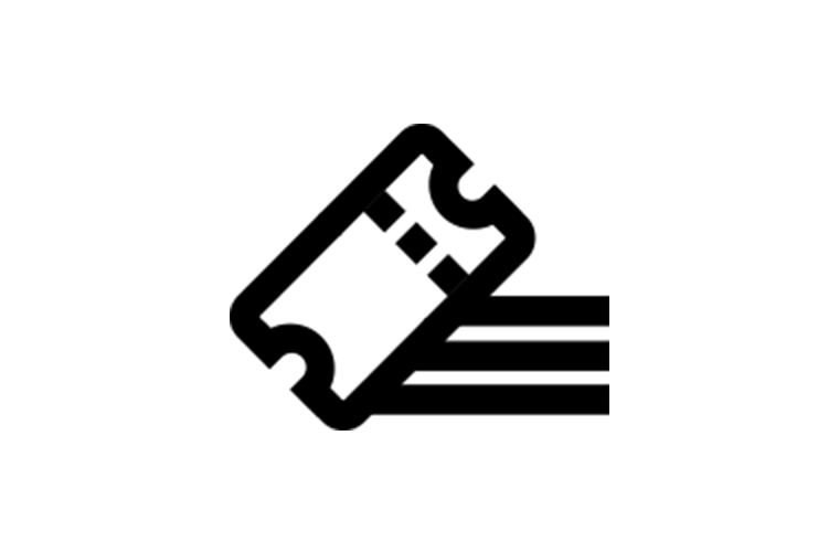 ticketing promotion icon