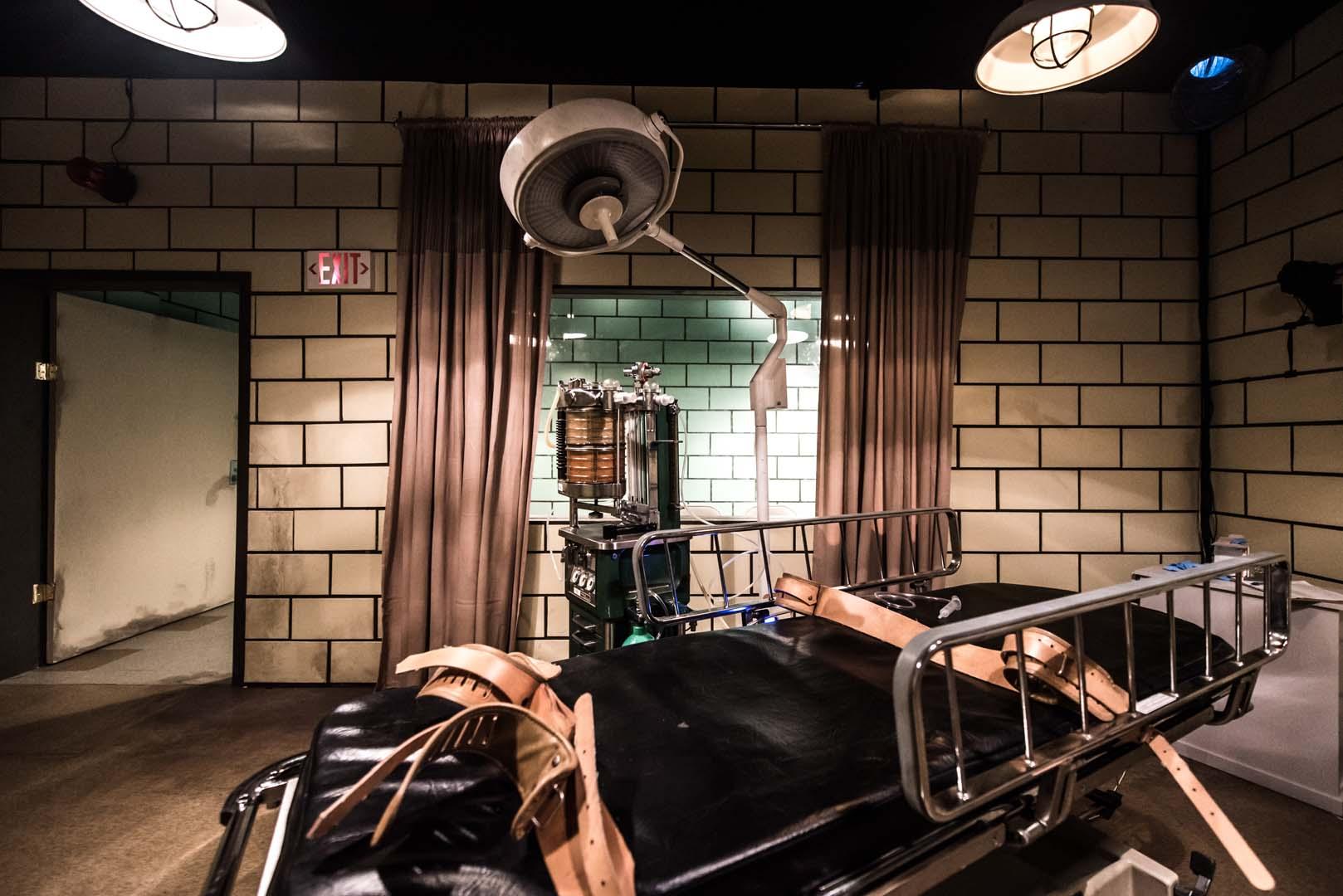 Hulu - Castle Rock clinic bed